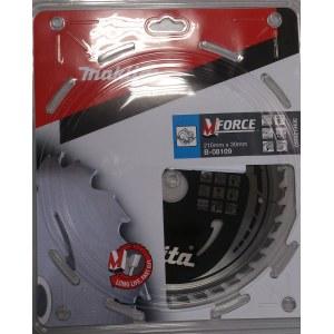 Pjovimo diskas medienai Makita MFORCE; Ø210 mm