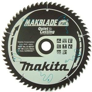 Pjovimo diskas medienai Makita MAKBLADE PLUS; Ø190 mm