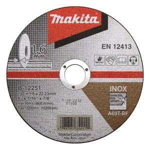 Abrazyvinis pjovimo diskas Makita; Ø150x1,6 mm; metalui