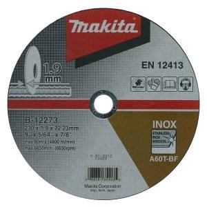 Abrazyvinis pjovimo diskas Makita B-35134; Ø230x1,9 mm; metalui