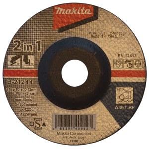 Abrazyvinis pjovimo diskas Makita B-21244; Ø125x3,2 mm; metalui