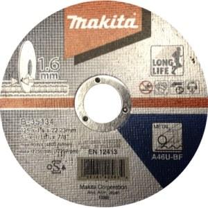 Abrazyvinis pjovimo diskas Makita B-35134; Ø125x1,6 mm; metalui