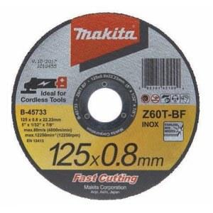 Abrazyvinis pjovimo diskas Makita Z60T-BF; Ø125x0,8 mm