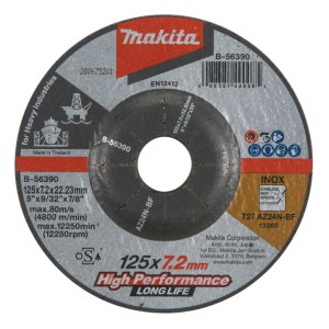 Galandinimo diskas Makita B-56390; 125x7,2 mm