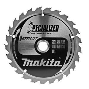 Pjovimo diskas medienai Makita EFFICUT; 165x1,4x20,0 mm; Z25; 23°