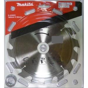 Pjovimo diskas medienai Makita; Ø185 mm