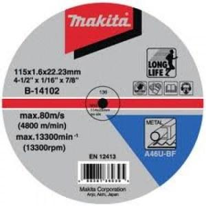 Šlifavimo diskas Makita A 24 R; Ø115x6 mm