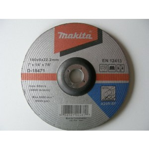 Šlifavimo diskas Makita A 24 R; Ø180x6 mm