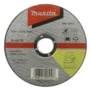 Abrazyvinis pjovimo diskas Makita metalui; Ø125x1,2 mm