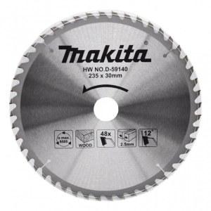 Pjovimo diskas medienai Makita D-59140; 235 mm