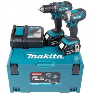Įrankių rinkinys Makita DLX2127MJ (DDF482+DTD152); 18 V; 2x4,0 Ah akum.