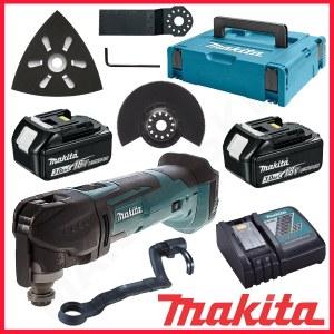 Daugiafunkcinis įrankis Makita DTM51RFJX1; 18 V; 2x3,0 Ah akum. + priedai