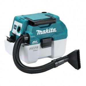 Dulkių siurblys Makita DVC750LZ; 18 V; HEPA (be akumuliatoriaus ir pakrovėjo)