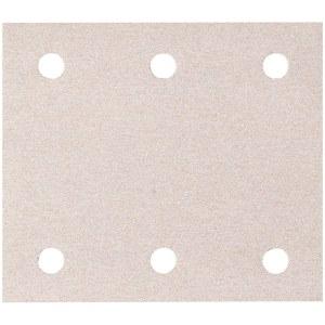 Šlif. popierius vibro šlifuokliui; 114x102 mm; P60; 10 vnt.