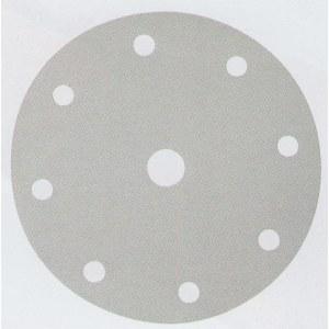 Šlif. popierius Velcro Backed; Ø150 mm; K60; 10vnt.