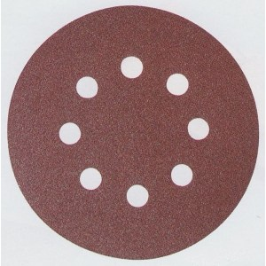 Šlif. popierius Velcro Backed; Ø125 mm; K400; 10vnt.