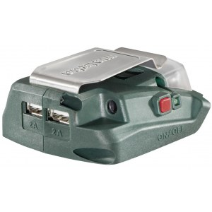 Adapteris krovimui per USB Metabo PA 14,4 – 18 V LED USB