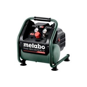 Akumuliatorinis oro kompresorius Metabo 160-5 18 LTX BL OF; 18 V (be akumuliatoriaus ir pakrovėjo)