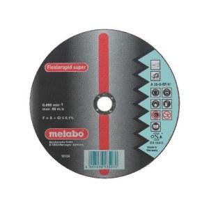 Abrazyvinis pjovimo diskas Metabo; Ø125x1,6 mm; metalui