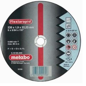 Abrazyvinis pjovimo diskas Metabo; Ø230x1,9 mm; metalui