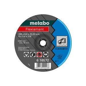 Šlifavimo diskas Metabo A 24-N; 125x6 mm; 1 vnt.