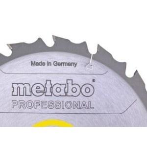 Pjovimo diskas medienai Metabo; 160x2,2x20,0 mm; Z10; 22°