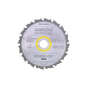 Pjovimo diskas medienai Metabo 628005000 HW/CT; 190 mm
