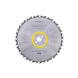 Pjovimo diskas medienai Metabo; 315x3x30,0 mm; Z24; 20°