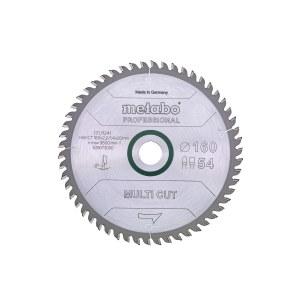 Universalus pjovimo diskas Metabo Multi-Cut; 160x2,2x20,0 mm; Z54; 8°