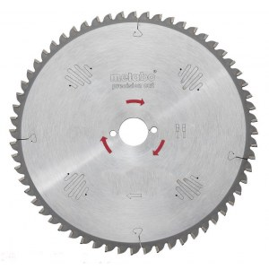 Pjovimo diskas medienai Metabo Precision Cut; 254x2,4x30,0 mm; Z48; -5°