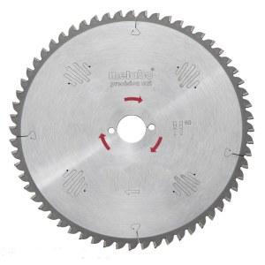 Pjovimo diskas medienai Metabo Precision Cut; 254x2,4x30,0 mm; Z60; -5°