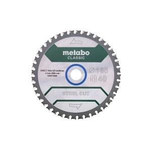 Pjovimo diskas Metabo Classic; 165x20x1,6 mm; Z40; 4°