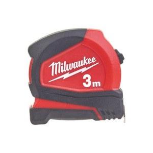 Matavimo ruletė Milwaukee Pro Compact 4932459591; 3 m