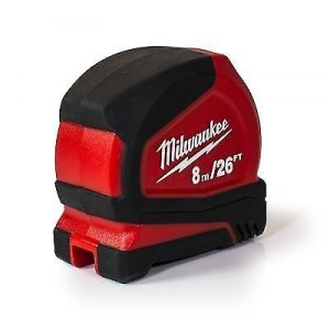 Matavimo ruletė Milwaukee Pro Compact 4932459594; 8 m