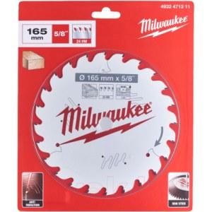 Pjovimo diskas medienai Milwaukee 4932471311; 165 mm