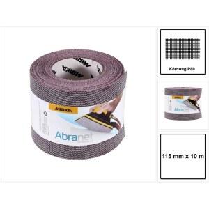 Šlifavimo tinklelio rulonas Mirka Abranet 545BY001803R; 115 mm x 10 m; P80