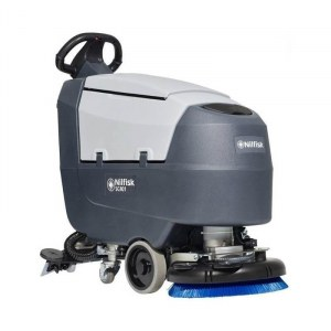 Grindų plovimo įrenginys Nilfisk-ALTO Scrubber SC401 43 B; 2x12 V; 2x76 Ah akum.