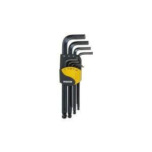 Šešiakampių raktų rinkinys Proxxon Allen; HEX-TX; 9 vnt.
