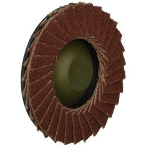 Vėduoklinis šlifavimo diskas tiesiniam šlifuokliui Proxxon; 50 mm; K100