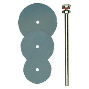 Pjovimo diskas medienai Proxxon; Ø16/19/22 mm; 3 vnt.