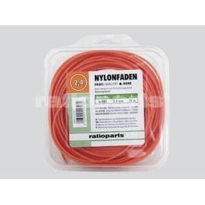 Pjovimo gija Nylon line (2,4 mm/15 m, oranžinė)