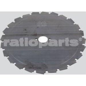 Diskas krūmapjovėms Ratioparts (24x225x1,8;d=25,4mm)