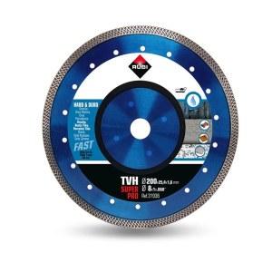 Deimantinis pjovimo diskas šlapiam pjovimui Rubi TVH 200 SuperPro; Ø200