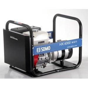 Kintamos elektros srovės generatorius SDMO HX 6000-C + Alyva