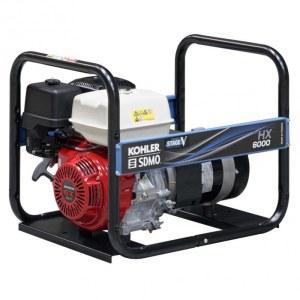 Kintamos elektros srovės generatorius SDMO HXC6000-C5; 5,6 kW; benzininis + alyva