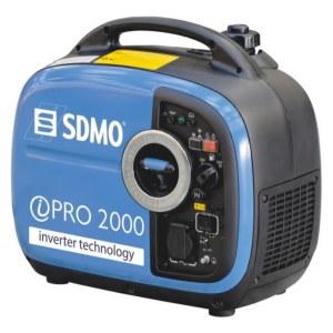 Generatorius SDMO INVERTER PRO 2000 C5; 2 kW; benzininis + alyva
