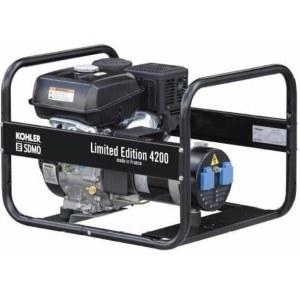 Vienfazis generatorius SDMO 4200 LIMITED EDITION; 4 kW; benzininis + alyva