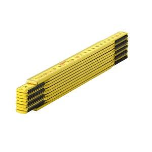 Sulankstoma medinė liniuotė Sola HG 2/10; 2 m