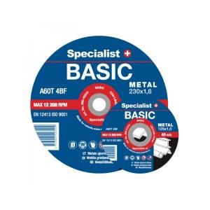 Abrazyvinis pjovimo diskas Specialist 250-01212; 125x1,2x22 mm