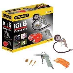 Kompresoriaus įrankių rinkinys pūtimui Stanley KIT6